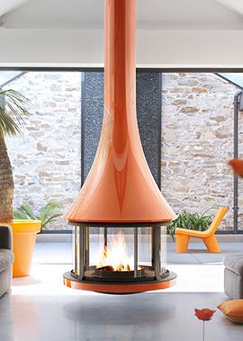 cheminee-design-Bordelet-908CFFCOL-zelia908-centrale-color-orange-ff-paysage-f-distributeur-seguin-91-78-92-75